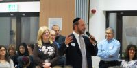 Bushey Community meet Rabbi Elchonon and his family